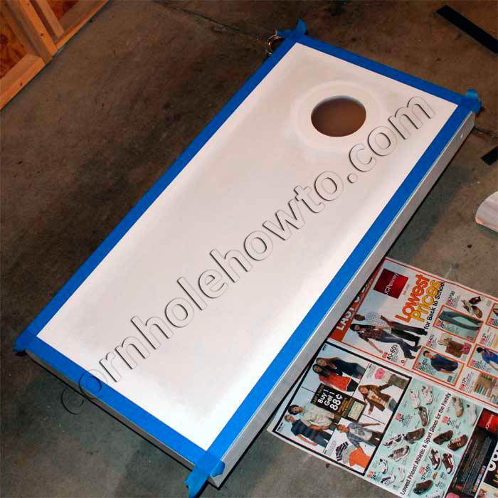 How To Paint Cornhole How To